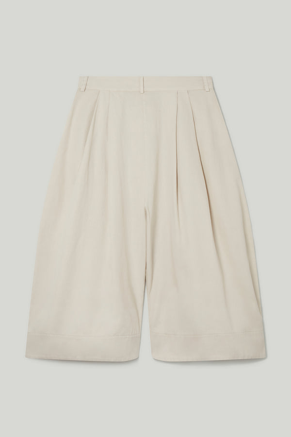 THE CLOWN TROUSER / COTTON TWILL STONE