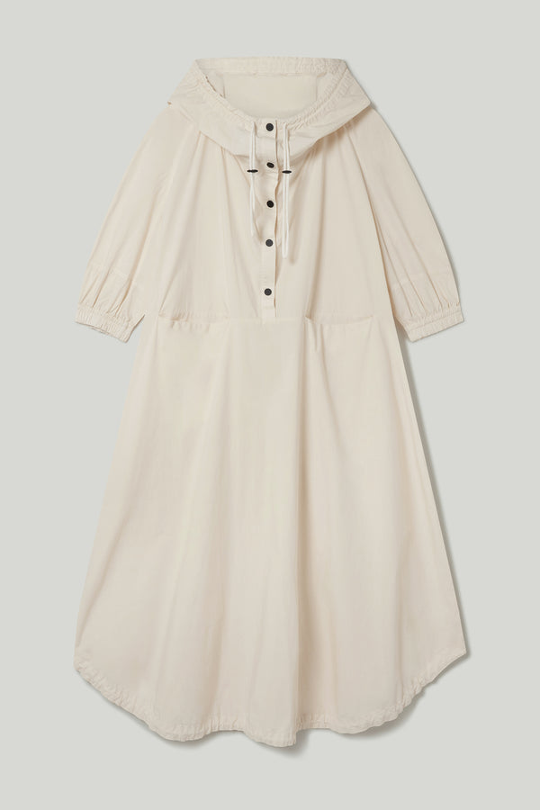 THE FORAGER DRESS / POPLIN RAW