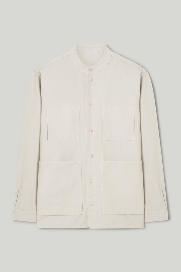 THE LOCKSMITH SHIRT / CANVAS LIGHT RAW