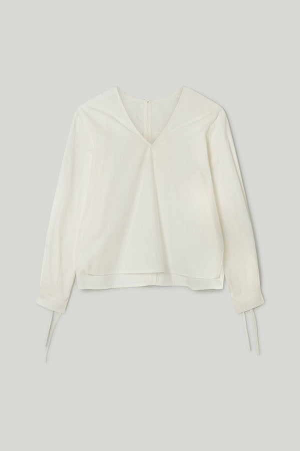 THE BELLRINGER TOP / CRISP COTTON CHALK