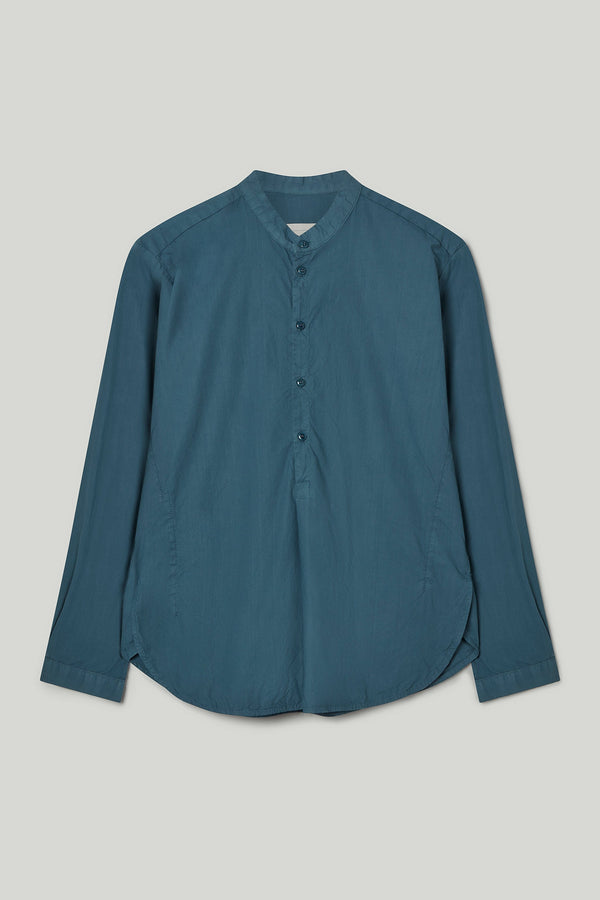 THE BOTANIST SHIRT / POPLIN FOG
