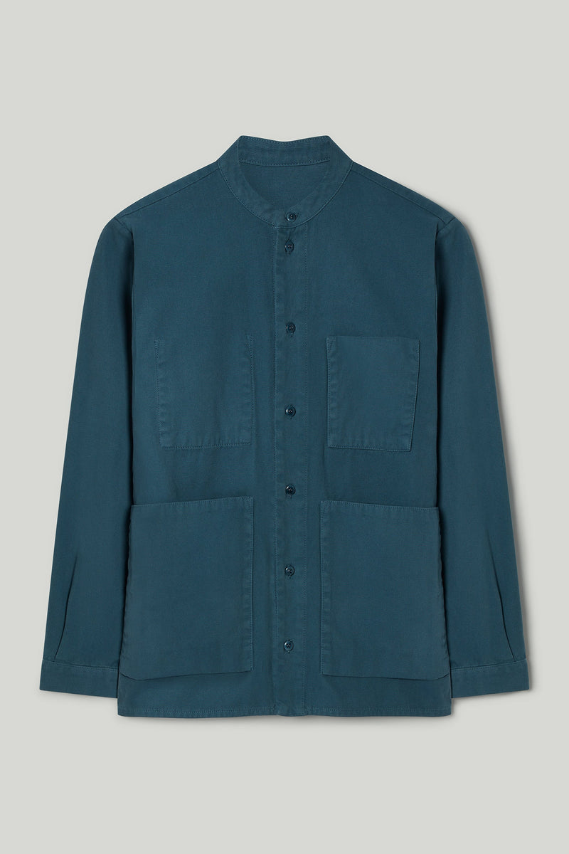 THE LOCKSMITH SHIRT / CANVAS FOG