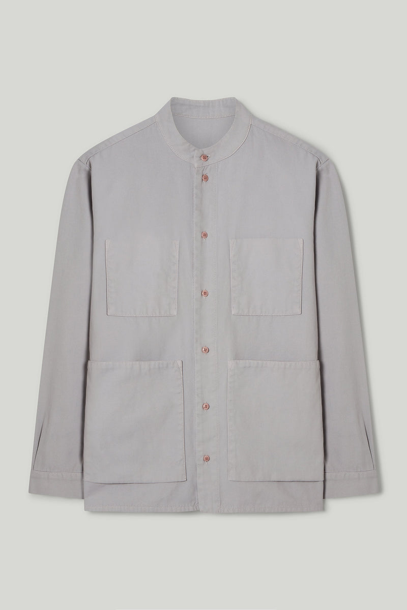 THE LOCKSMITH SHIRT / CANVAS PALE SLATE