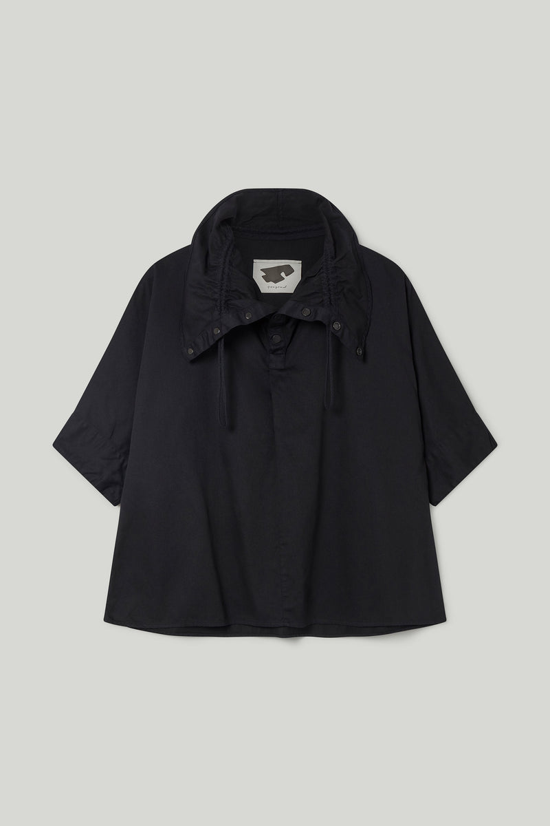 THE MUDLARK SHIRT / COTTON TWILL FLINT