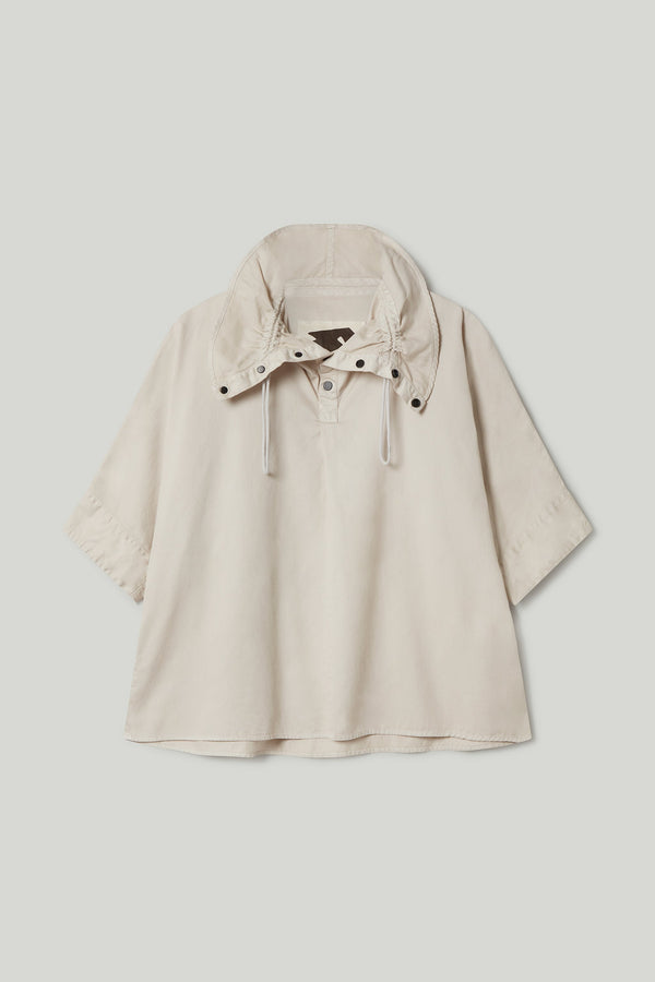 THE MUDLARK SHIRT / COTTON TWILL STONE