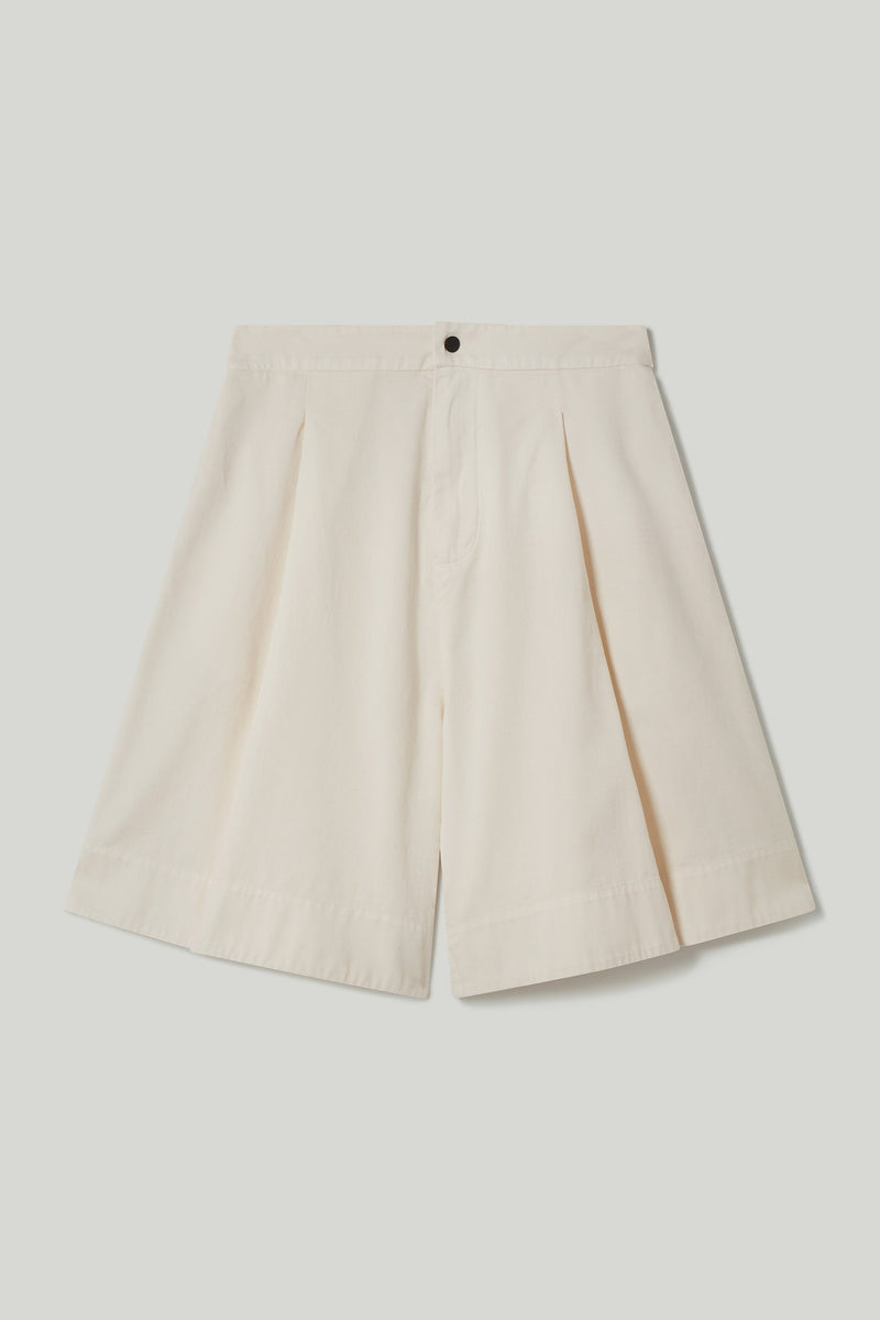 THE MUDLARK SHORTS / COTTON TWILL STONE