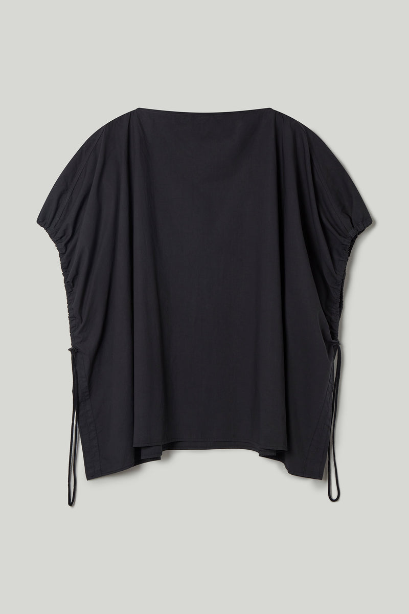 THE MUDLARK TOP / POPLIN FLINT