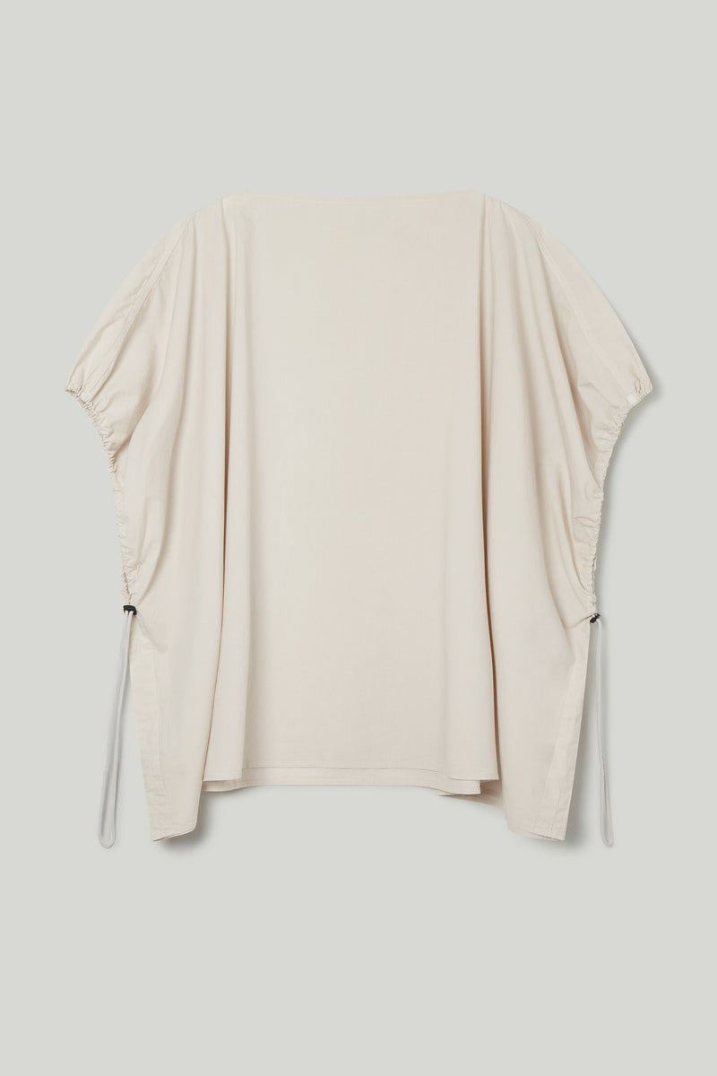 THE MUDLARK TOP / POPLIN STONE