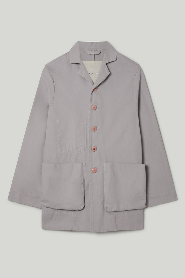 THE PHOTOGRAPHER JACKET / CANVAS PALE SLATE