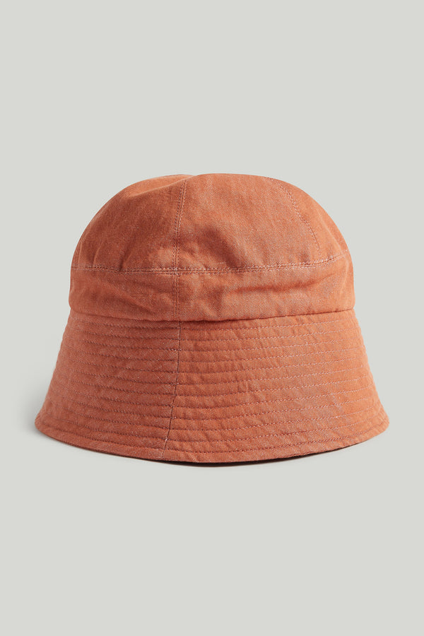 THE TINKER HAT / LINEN COTTON DRILL CLAY