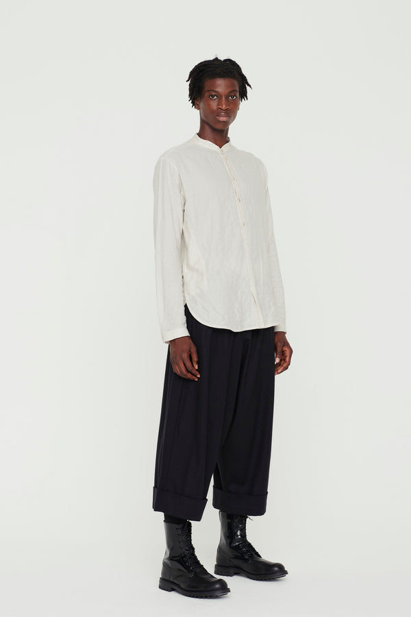 THE BAKER TROUSER / WOOL CASHMERE FLINT