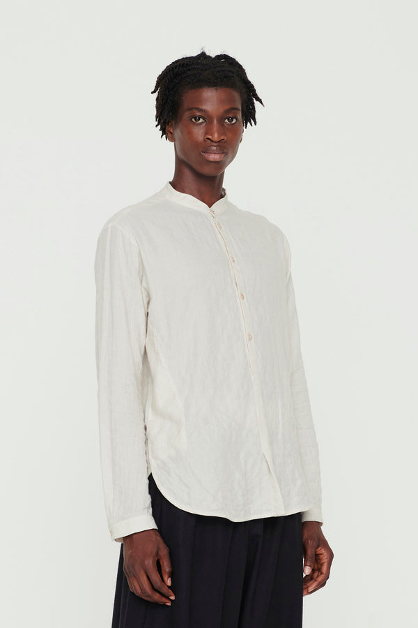 THE BOTANIST SHIRT / SOFT COTTON CHALK
