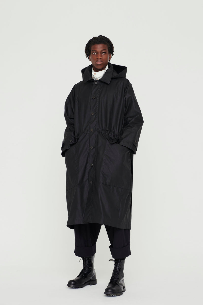 THE PLOUGHMAN COAT / WAXED COTTON FLINT