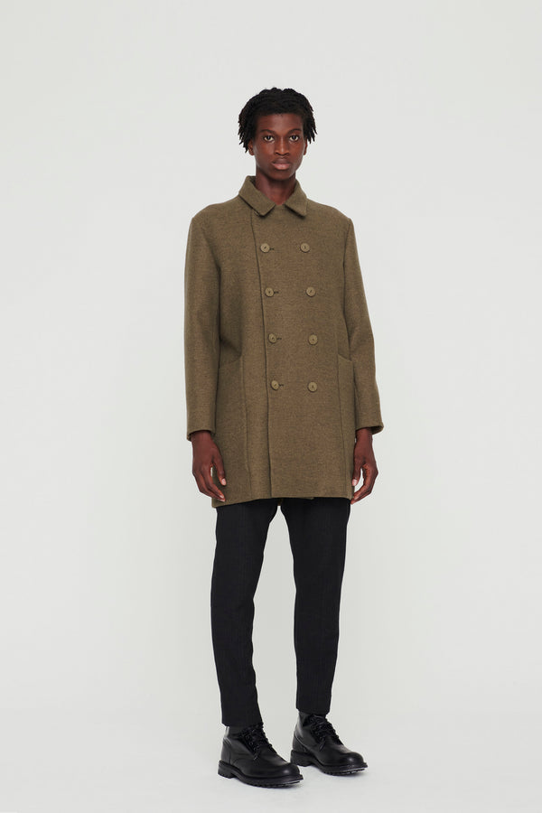 THE REEFER COAT / DUFFLE KHAKI