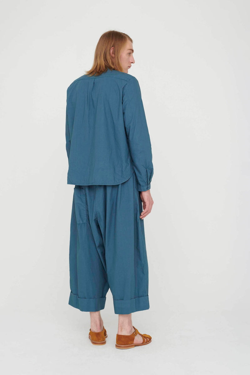 THE BAKER TROUSER / POPLIN FOG