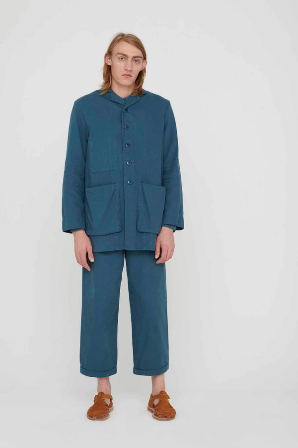 THE BRICKLAYER TROUSER / CANVAS FOG