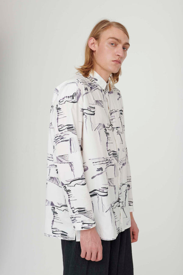 THE DRAUGHTSMAN SHIRT / PLOUGHED FIELDS