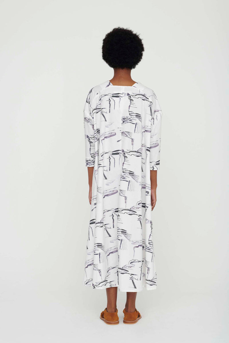 THE ASTROLOGER DRESS / PLOUGHED FIELDS