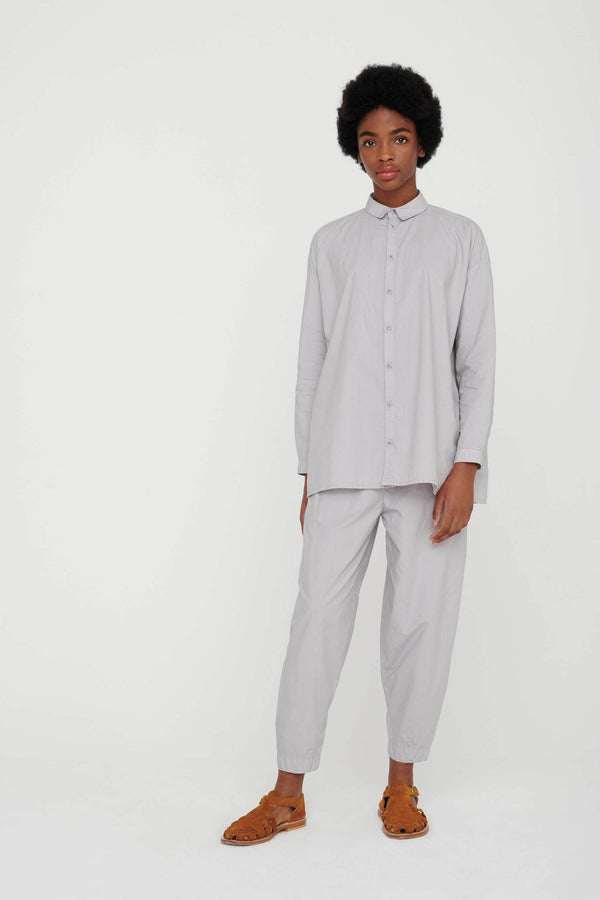 THE ACROBAT TROUSER / POPLIN PALE SLATE