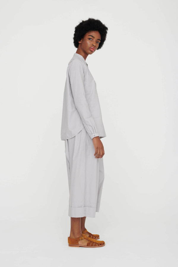 THE BAKER TROUSER / POPLIN PALE SLATE