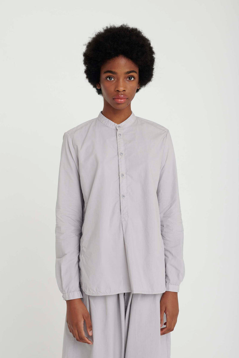 THE BOTANIST SHIRT / POPLIN PALE SLATE