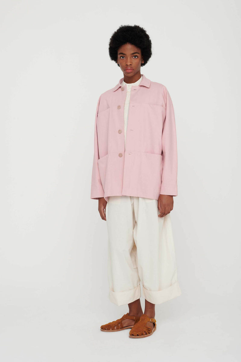 THE FARRIER JACKET / FIELDS PATCH OLD ROSE