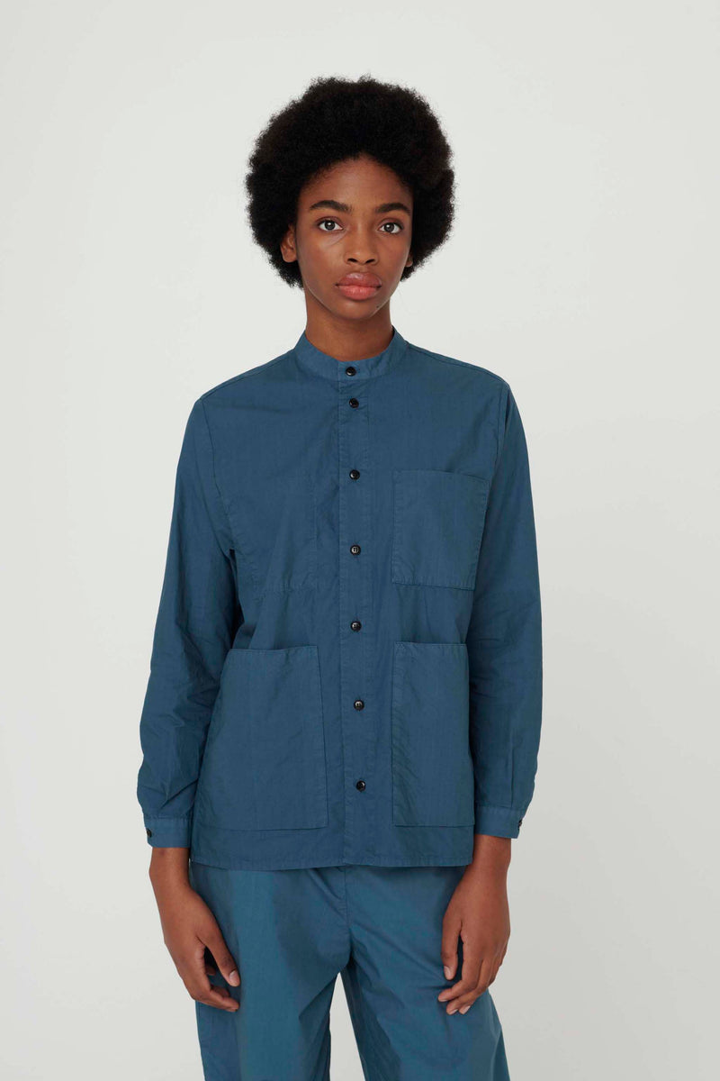 THE LOCKSMITH SHIRT / POPLIN FOG