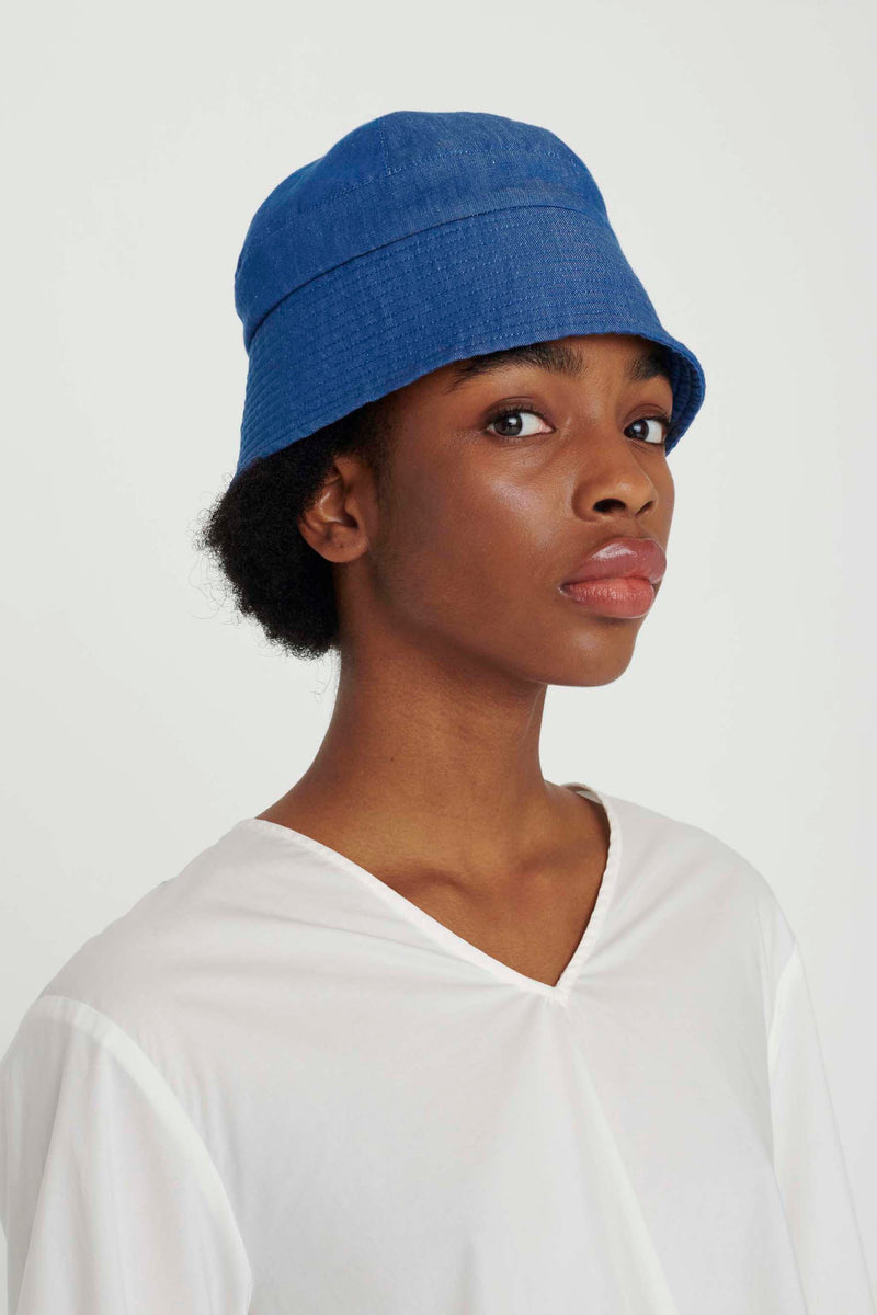 THE TINKER HAT / LINEN COTTON DRILL INDIGO