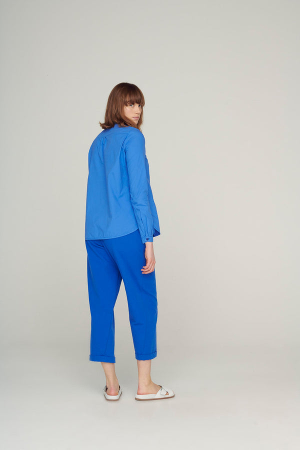 The Botanist Shirt / Cobalt