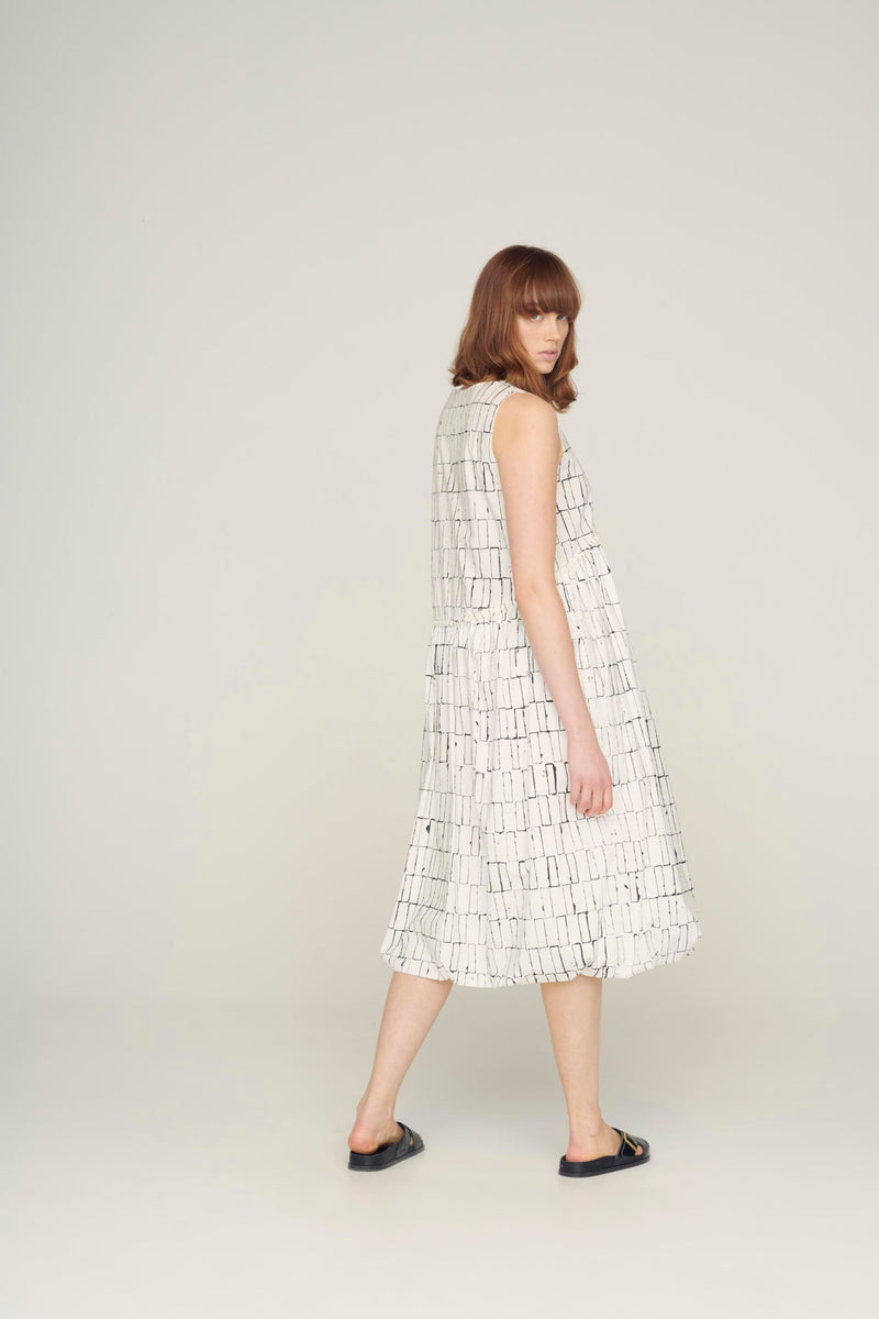 The Bellringer Dress / Poplin Blocks