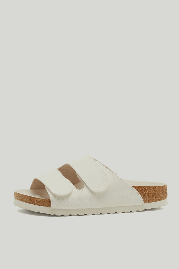 THE FORAGER SANDAL / CANVAS CHALK