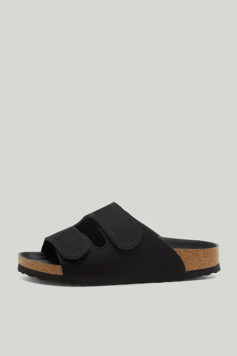 THE FORAGER SANDAL / CANVAS FLINT