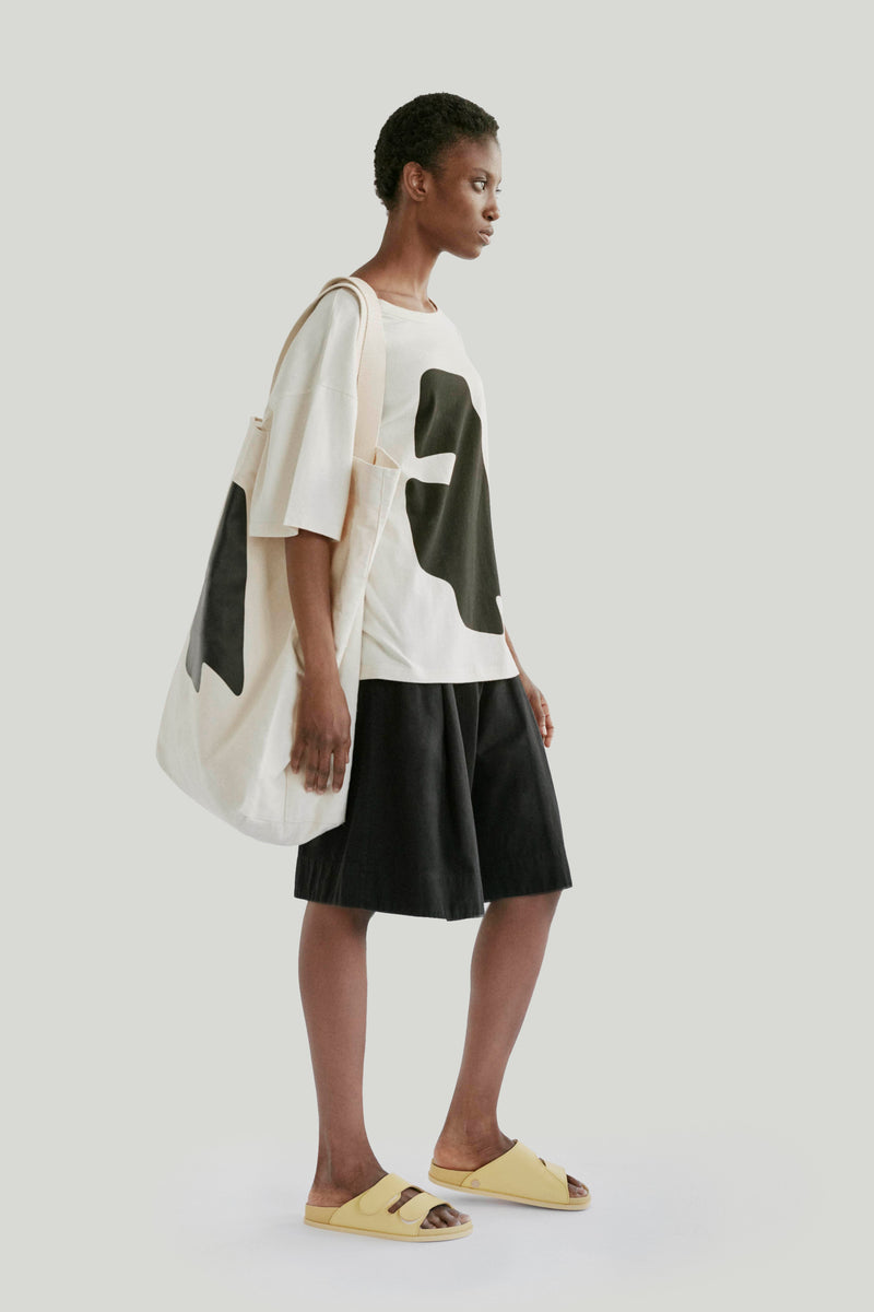 THE BEACHCOMBER T-SHIRT / ORGANIC JERSEY SANDAL
