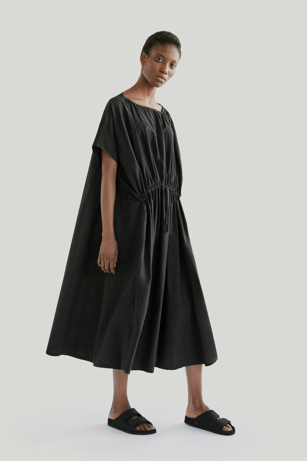 THE MUDLARK DRESS / POPLIN FLINT