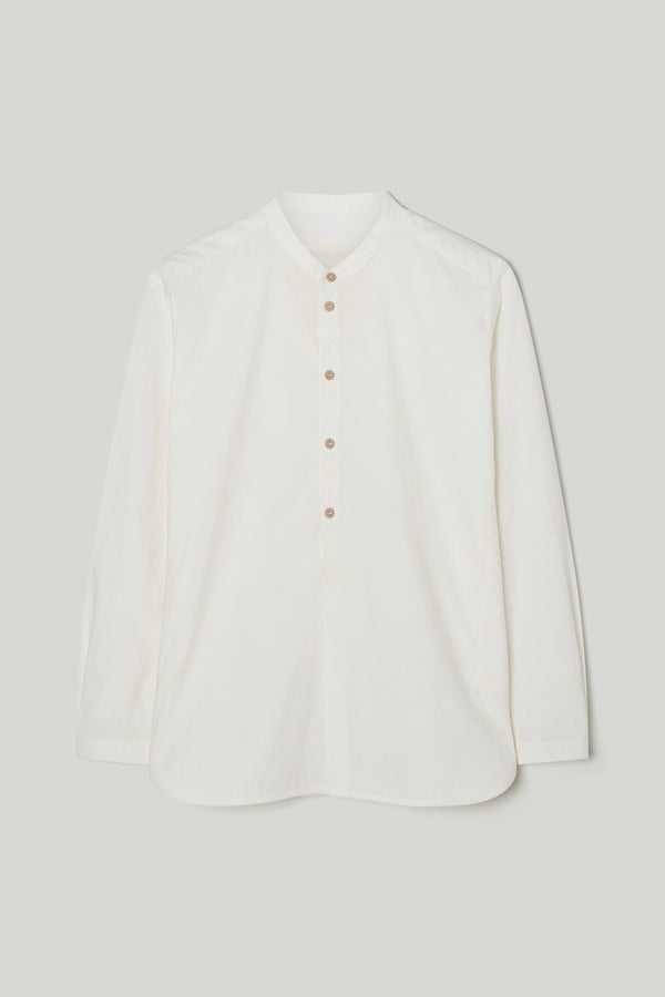 THE BOTANIST SHIRT / CRISP COTTON CHALK