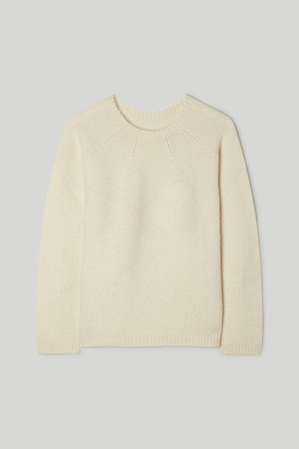 THE EXPLORER JUMPER / CHALK