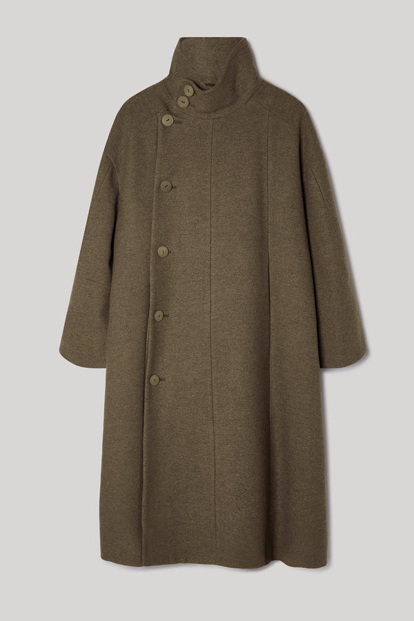 THE FENCER COAT / DUFFLE KHAKI