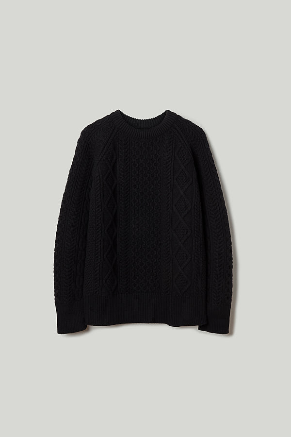 THE FISHERMAN JUMPER / FLINT