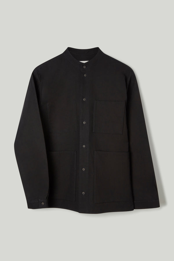 THE LOCKSMITH SHIRT / TEXTURED COTTON FLINT