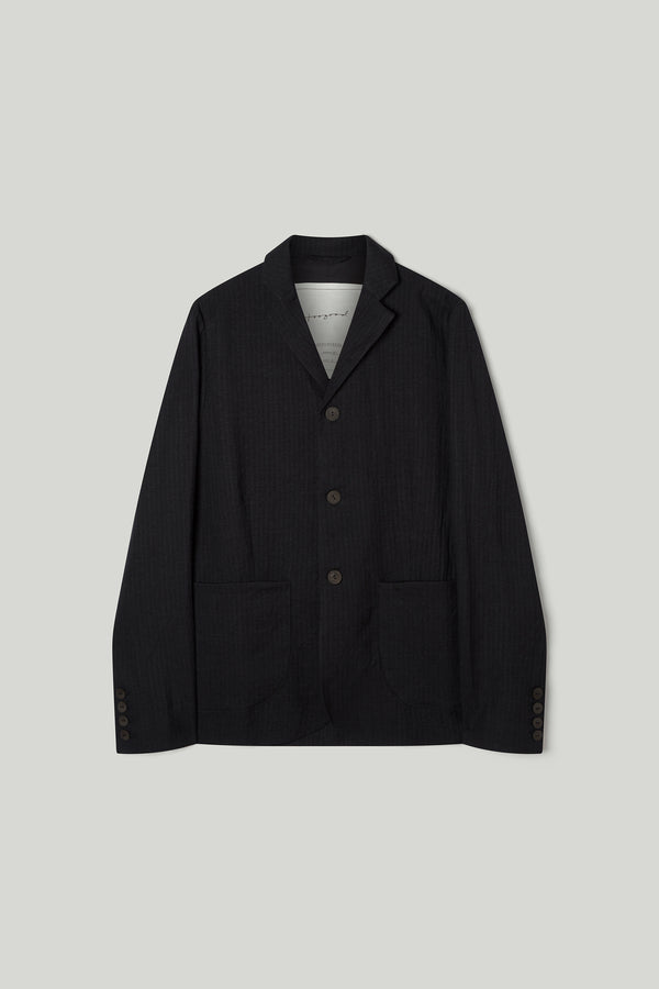 THE METALWORKER JACKET / WOOL HERRINGBONE