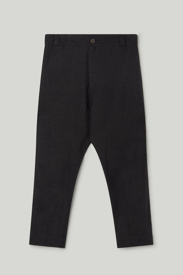 THE METALWORKER TROUSER / WOOL HERRINGBONE