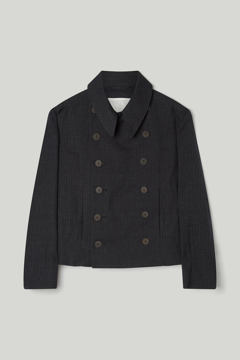 THE SOLDIER JACKET / WOOL HERRINGBONE