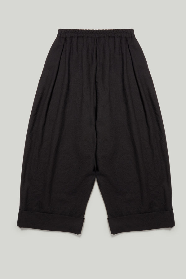 THE BAKER TROUSER / BOILED WOOL FLINT