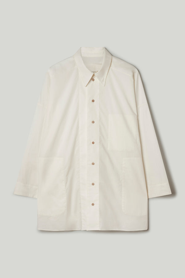 THE WOODCUTTER SHIRT / CHALK