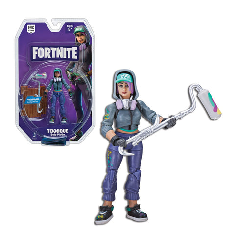 Action Figurer Teknique Fortnite (10 cm)