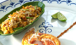Simple grilled lobster recipe with pad Thai sauce - WATCHAREE'S