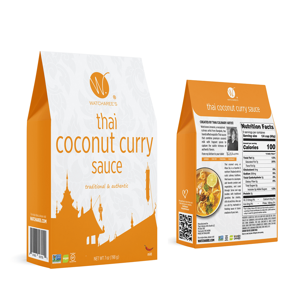 Thai Coconut Curry Sauce