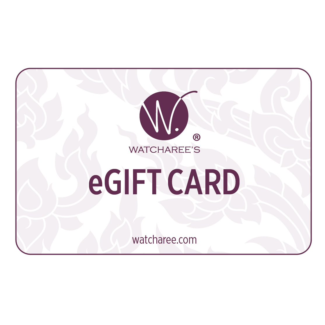 WATCHAREE'S Thai sauces - eGift card