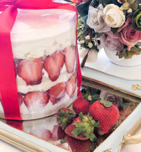 Load image into Gallery viewer, Strawberries and Cream Trifle Cake