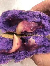 Load image into Gallery viewer, Ube with Cheese Soy Pandesal